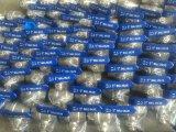 2PC продело нитку шариковый клапан сварки сваренный прикладом, нержавеющую сталь 201, 304, 316 клапанов, шариковый клапан Dn50 Q11f