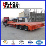 Welle 3 60 Tonnen-niedriger Bett-LKW-Schlussteil