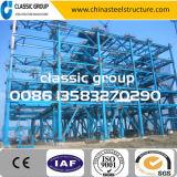 Construction préfabriquée légère concevant pré l'entrepôt/usine/coût jeté/de construction structure métallique