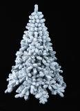 群がらせた雪(SU99)が付いている大きい先端PVC Christams木