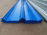 Farbe und galvanisiertes gewölbtes Dach-Blatt für Dach-Fliesen