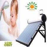 Calentador de agua solar con depósito auxiliar