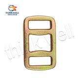 버클 또는 반지를 채찍질하는 1가지의 방법이라고 직류 전기를 통하는 위조된 강철 노란