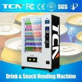 Máquina expendedora combinada fría de Drinks&Snacks de la capacidad grande con la pantalla de 8 '' lcd