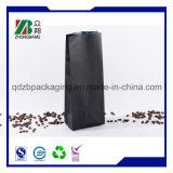 Sac de empaquetage flexible en plastique de grain de café
