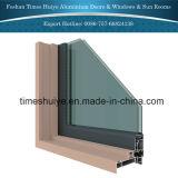 De Openslaand ramen van het aluminium met Nieuwste Ontwerp en Verschillende Kleur