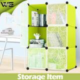 6 Würfel-modularer Speicher-Organisator-Wandschrank-Bücherschrank mit vielen Farben erhältlich