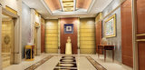 плита нержавеющей стали волосяного покрова цвета золота 304 316 для гостиницы 5 звезд