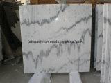 Плитки Китая белые мраморный Guangxi белые для стены и настила