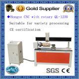 ranurador del CNC de 1200m m para la cortadora rotatoria del grabado Ql-1200