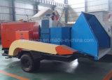 Trucioli Chipper del motore diesel/di legno mobili che fanno macchina