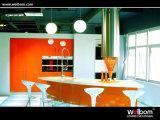 2015 het Naar maat gemaakte Ontwerp van de Keukenkast van de Lak Welbom Moderne