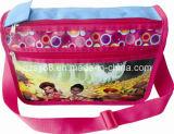 Nuevo bolso de hombro de los estudiantes del encerado del diseño