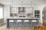 De moderne Hoge Glanzende Houten Keuken Cabient van de Luxe (door-l-97)
