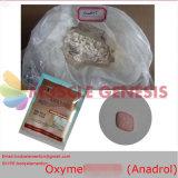 Forma oral sin procesar de la inyección de Oxymetholone Anadrol del polvo de los esteroides para el crecimiento del músculo