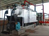 Carvão do uso da indústria do vapor, caldeira de madeira do combustível contínuo