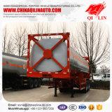 3 Behälter-Tanker-halb Schlussteil Wellen ISO-40FT für Kenia