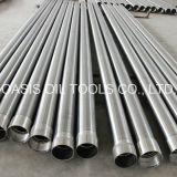 Constructeur en Vé de la Chine de Pipes de Filtres pour Puits de L'eau de Johnson de Fil de Ss316L