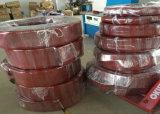 Grand tube superbe de silicones, pipe de silicones, chemise de silicones pour des rouleaux de corona