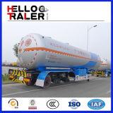 Acoplado licuefecho del petrolero del transporte 45m3 LPG del gas del petróleo/del propano