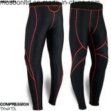 La compressione del Mens ansima il nero corrente delle calzamaglia di strato basso dei pantaloni lunghi nuovo
