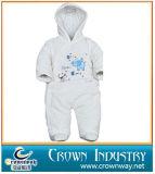 Vestuário do bebê da forma/macacão acolchoados algodão 100% do bebê