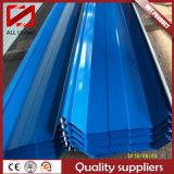 Lamiera sottile d'acciaio ondulata galvanizzata del tetto ricoperta colore di Dx53D