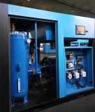 Compresor de aire gemelo de alta presión de enfriamiento del tornillo de la industria del viento
