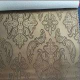 Tissu de tapisserie d'ameublement de vinyle de qualité