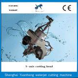 Hohe Präzisions-Wasserstrahl5 Mittellinien-Ausschnitt-Kopf für Wasserstrahlausschnitt-Maschine