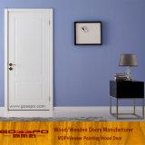 Puerta interior de madera del apartamento del MDF del blanco euro (GSP8-038)