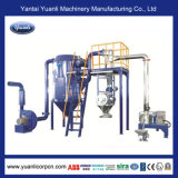 Sistema stridente verticale di vendita superiore per il rivestimento della polvere