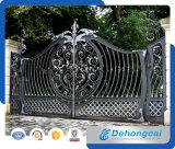Puerta de jardín forjada del metal del hierro