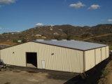 Entrepôt portique de structure métallique de lumière de bâti (KXD-555)
