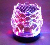 Кристаллический миниый портативный диктор цифров Bluetooth с карточкой USB, TF, функцией ауксина, формой способа и цветастыми светами
