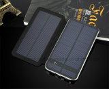 Côté mince 10000mAh d'énergie solaire de chargeur de panneau solaire de 2 USB