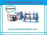 Máquina de soldadura hidráulica da tubulação do HDPE da fusão da extremidade de Sud355h