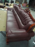 Il sofà antico della mobilia del salone, sofà ha impostato (9208)