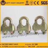 Зажим веревочки провода DIN1142 Galv томительноий-тягуч