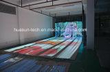 O diodo emissor de luz descasca a cortina macia transparente Apollo do diodo emissor de luz do diodo emissor de luz da tela
