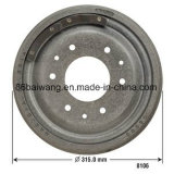 Car Brake Drum 3153620 for Amc Series