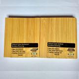 Suelo de bambú de la laca ULTRAVIOLETA vertical lisa natural del color