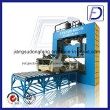 Hydraulischer Guillotine-Ausschnitt-Abfall-Reifen, der Maschine aufbereitet