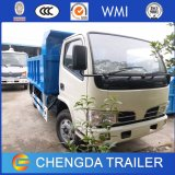 Dongfeng 5 de mini toneladas caminhão de descarga leve pequeno