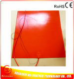 Verwarmer van de Printer van het silicone de Rubber 3D 110V 500W 650*650*1.5mm met Ce RoHS