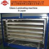 Máquina que lamina de cristal Yd-185-5 cinco capas