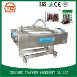 Machine de emballage sous vide continue plate pour le boeuf sec