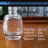 매니큐어를 위한 15ml 투명한 장식용 콘테이너 유리병