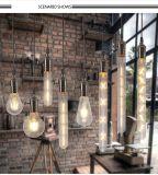 E27 LEDのフィラメントの球根のゆとりの屋内ガラスエジソンの電球