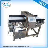 Detector de detección de metales correa transportadora